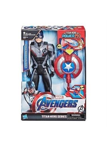 Avengers Avengers: Endgame Titan Hero Power Fx Captain America Figür Renkli